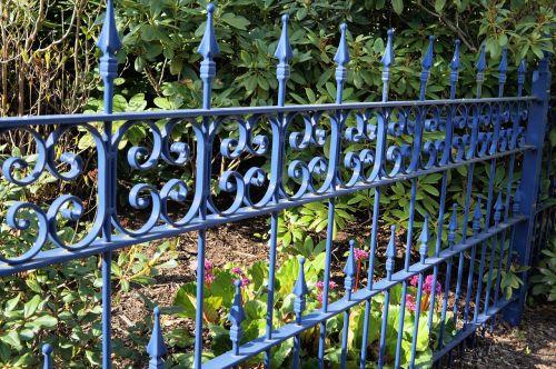 fence demarcation metal