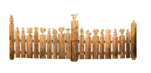 fence  wood fence  protection