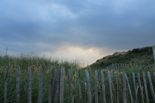 fence demarcation dunes