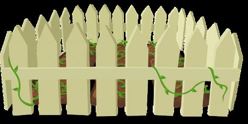 fence garden enclosed