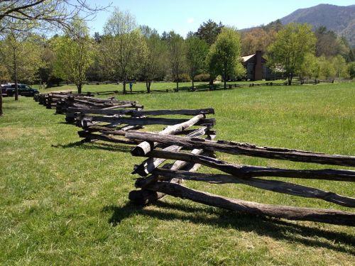 fence wood homestead