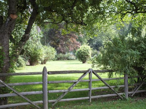fence split rail farm