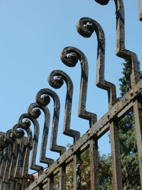 fence wrought iron saarbruecken