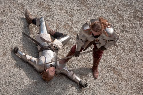 fencing swords battle
