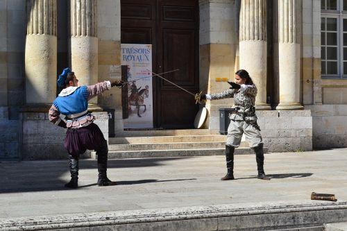 fencing former fencing château de blois