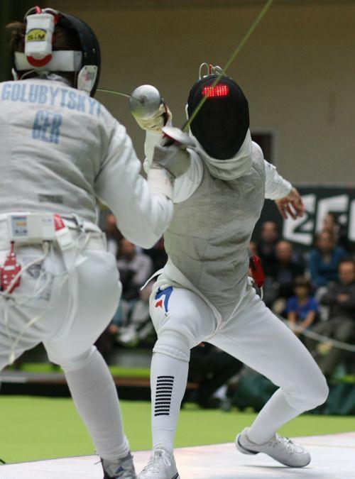 fencing sports swords