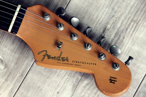 fender guitar instrument