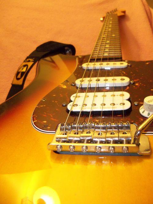 Fender Strat Electric Guitar