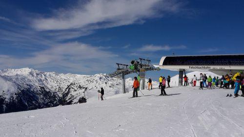 ferie tourism skis