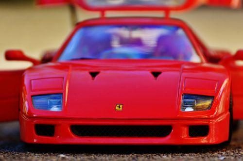 ferrari racing car model car