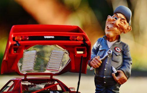 ferrari racing car mechanic