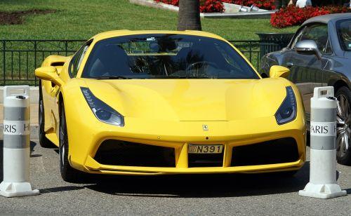 ferrari sports car speed