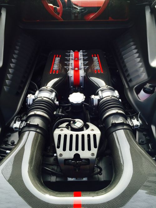ferrari special engine