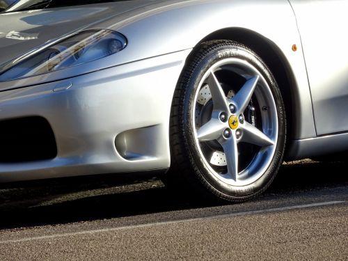 Ferrari 360 Modena Car Wheel Arch