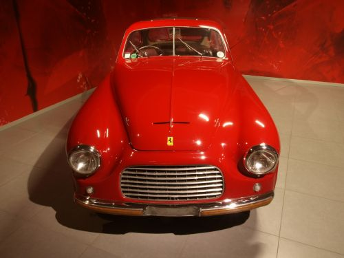 ferrari coupe 1949 car