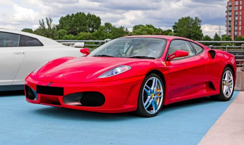 ferrari f430 supercar car