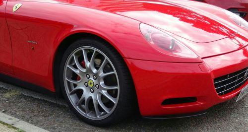 Ferrari Front Wheel And Lights