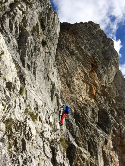 ferrata austria climbing