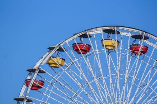 ferris wheel amusement park big wheel