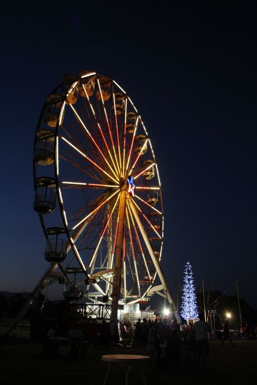 ferris wheel fair amusement