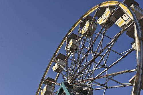 ferris wheel ride dusk