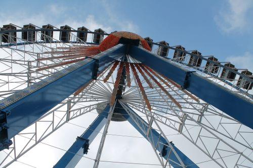ferris wheel oktoberfest fair