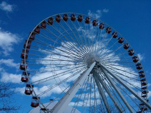 ferris wheel adventure recreation