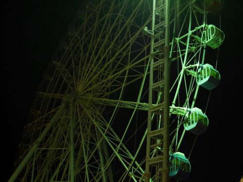 ferris wheel night fantastic