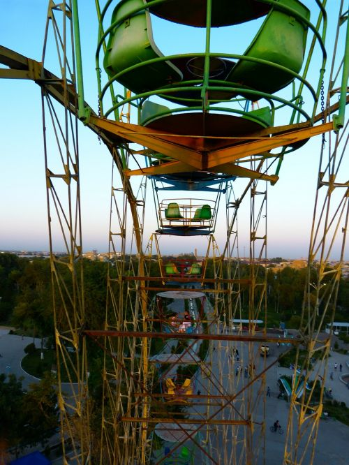 ferris wheel ride carousel