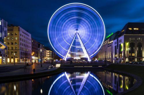 ferris wheel christmas düsseldorf