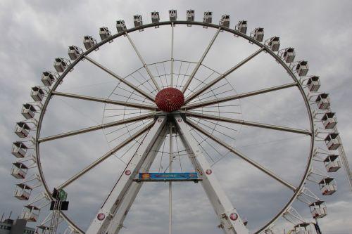 ferris wheel dom hamburg