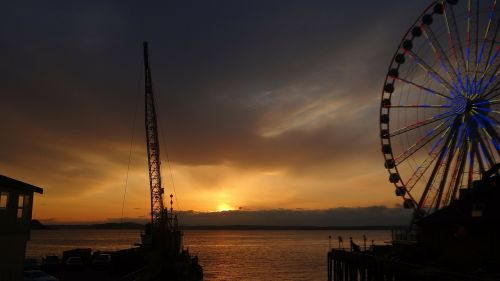 ferris wheel boat puget sound