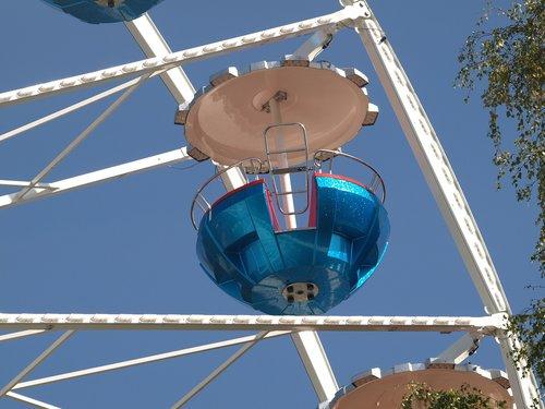 ferris wheel  gondola  fair