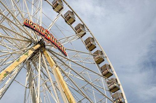 ferris wheel  folk festival  ulmer volksfest