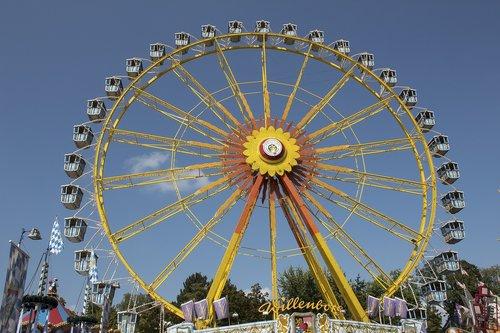 ferris wheel  gondolas  folk festival