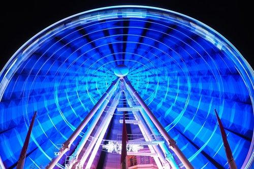 ferris wheel  ride  carnies