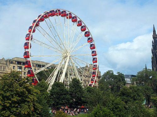 ferris wheel fair fairground