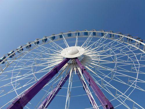 ferris wheel fairground oktoberfest