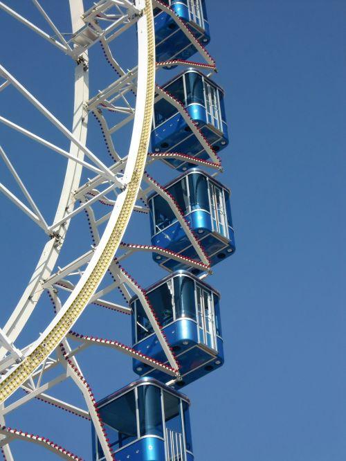 ferris wheel gondolas fairground