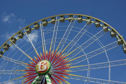 ferris wheel fair year market