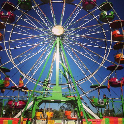 ferris wheel colors fun