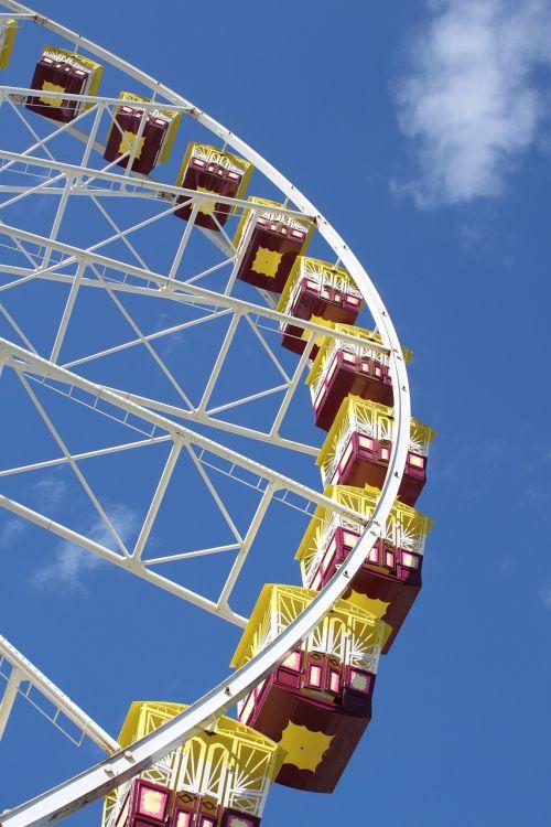 ferris wheel wheel amusement