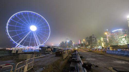 ferris wheel hong kong hk