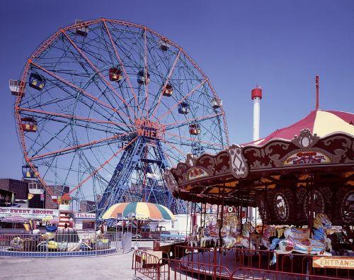 ferris wheel coney island new york