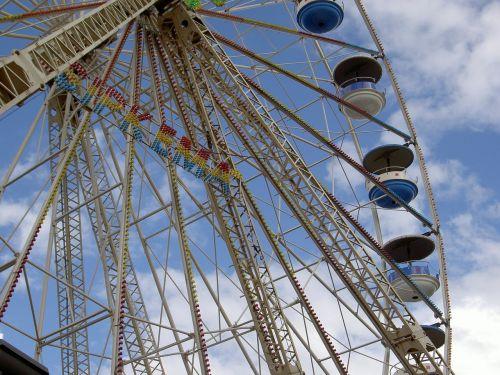 ferris wheel fair sky