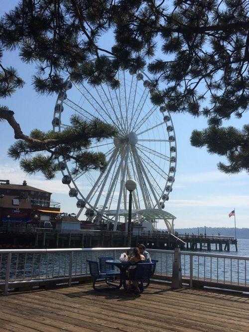ferris wheel people seattle