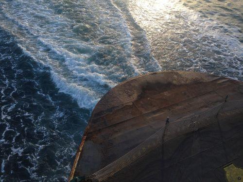 ferry washington state wake