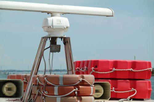 ferry lifebelt security