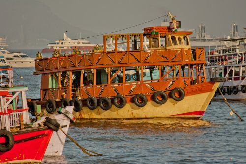 ferry old india