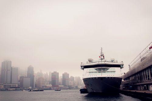 ferry ship hong kong